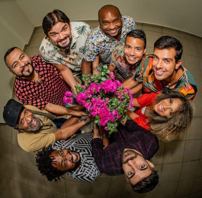 grupo arruda samba flores em vida samba cleber augusto 696x682 - Arruda homenageia o poeta Cleber Augusto, ex-Fundo de Quintal